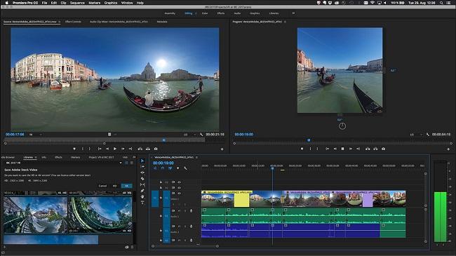 Adobe premiere pro cc video editing software