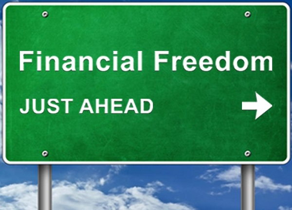 a debt-free life leads to freedom
