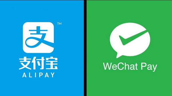 Alipay and Wechat pay, two of China's and the world's biggest online payment methods