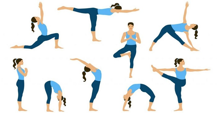 Yoga is perfect for home workouts
