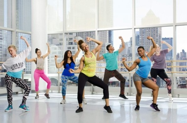 Zumba is a dance-inspired fitness routine