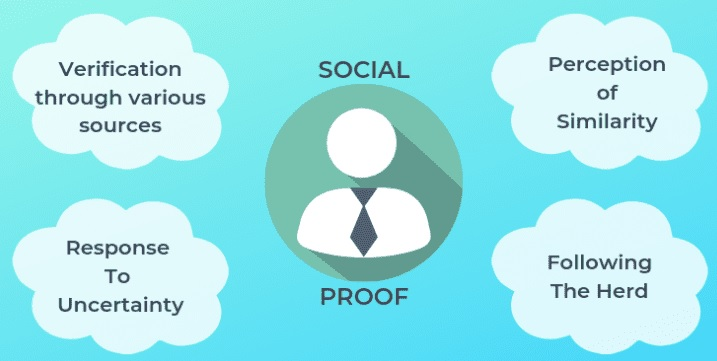 Social proof utilizes herd mentality to ultimately earn you more clients and sales.