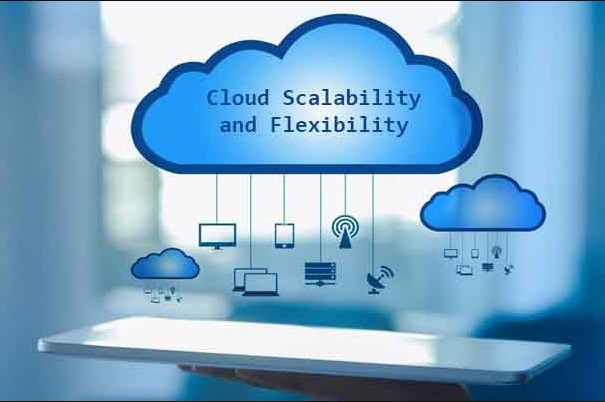 Scalability and flexibility are two benefits of cloud computing.